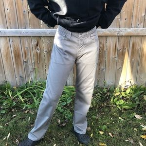 7 For All Mankind Sport Luxe Grey Jeans